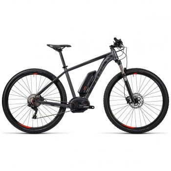 "VTT Electrique 29"" Cube Reaction Hybrid HPA Race 400 Gris/Rouge 2016"
