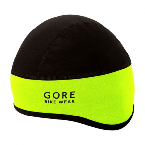 Gore Bike Wear Bonnet Gore Wear Windstopper Universal SO Jaune Fluo/Noir