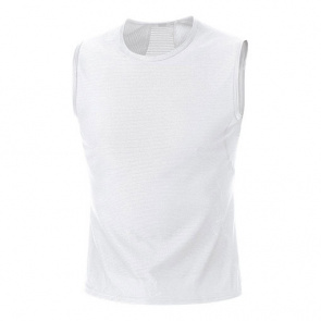 Gore Bike Wear Sous-vêtement Gore Bike Wear sans Manches Base Layer Blanc