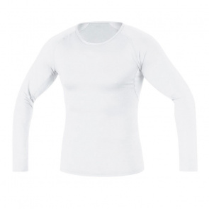 Gore Bike Wear Sous-vêtement Manches Longues Gore Bike Wear Base Layer Thermo Blanc