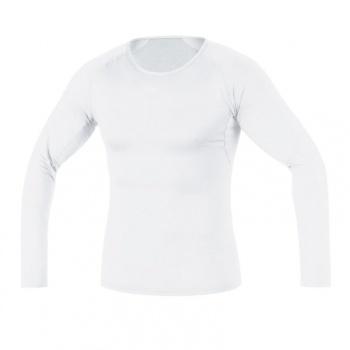 Sous-vêtement Manches Longues Gore Bike Wear Base Layer Thermo Blanc