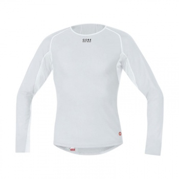 Sous-vêtement Manches Longues Gore Bike Wear WindStopper Thermo Gris/Blanc