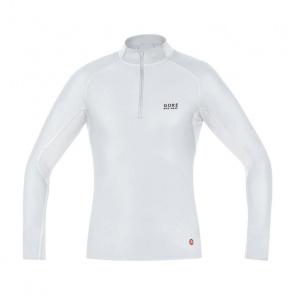 Gore Bike Wear Sous-vêtement Manches Longues Gore Bike Wear WindStopper Turtleneck Gris/Blanc