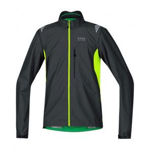 Gore Wear Gore Bike Wear E WS AS Zip-Off Jas Zwart/Fluo Geel