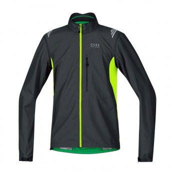 Veste Gore Bike Wear Element WS AS Zip-Off Noir/Jaune Fluo