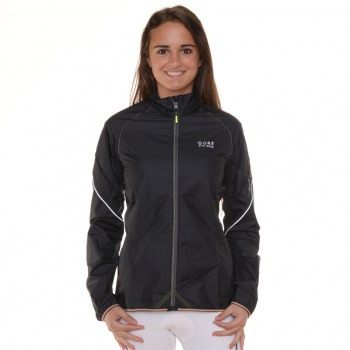 Gore Bike Wear Power AS Jas voor Vrouwen Zwart