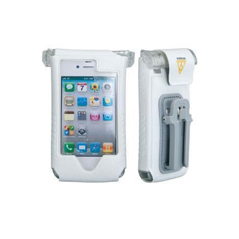 Protection Topeak pour IPhone 4 et 4S Blanc