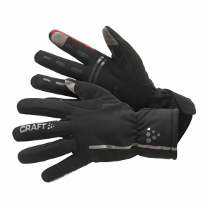 Craft Gants Craft Siberian Noir/Rouge