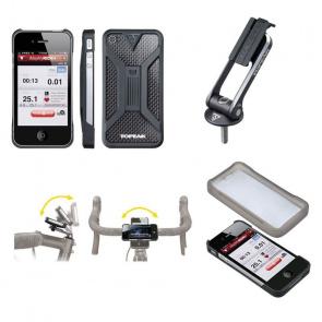 Topeak Topeak RideCase II Beschermcase voor iPhone 4 en 4S Zwart