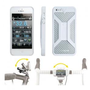 Topeak Coque de Protection Topeak RideCase II pour iPhone 4 et 4S Blanc