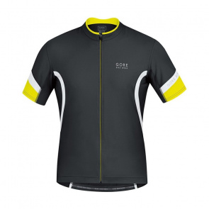 Gore Bike Wear Maillot Manches Courtes Gore Bike Wear Power 2.0 Noir/Blanc