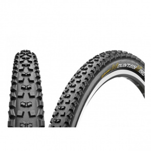 Continental Pack van 2 Continental Mountain King Protection Black Chili Banden 27.5x2.2