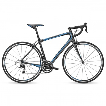 Vélo de Course Focus Izalco Ergoride 2.0 Carbone/Bleu/Gris 2015