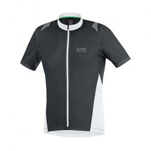 Gore Bike Wear Maillot Gore Bike Wear Element Full-Zip Noir/Blanc
