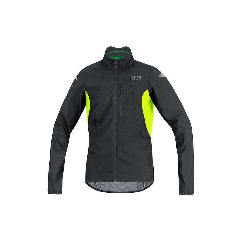 Veste Gore Bike Wear E WS AS Noir/Jaune