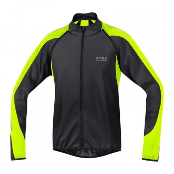 Gore Bike Wear Phantom 2.0 WS SO Jas Zwart/Neon Geel