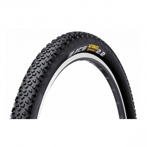 Continental Pack van 2 Continental Race King Protection Black Chili Banden 26x2.2