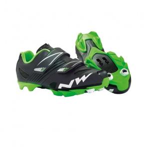 Northwave Chaussures VTT ENFANT Northwave Hammer Noir Mat/Vert