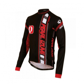 Pearl Izumi Maillot Manches Longues Pearl Izumi Elite Thermal LTD Big IP Rouge/Noir