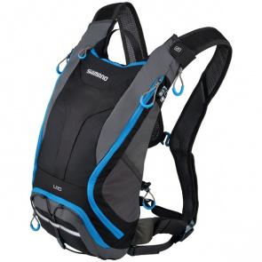Shimano Bike Gear Sac d'Hydratation Shimano Unzen 10L Noir/Bleu Clair