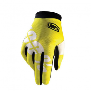 100% 100% Itrack Handschoenen Neon Geel 2015