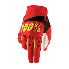 100% Gants 100% Airmatic Rouge