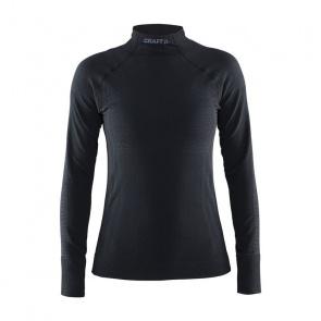 Craft Craft Warm Half Polo Ondershirt met Lange Mouwen voor Vrouwen Zwart 2017
