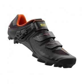Mavic chaussures Mavic CrossRide SL Elite MTB Schoenen Zwart/Grijs/Fluo Oranje 2016