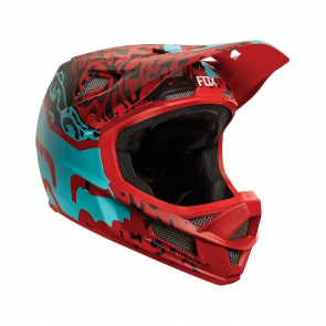 Fox Casque Fox Rampage PRO Carbon Rouge Cauz