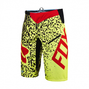 Fox Short Fox Demo DH Cauz Jaune Fluo 2016