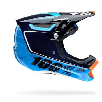 100% Bi Turbo Helm Blauw 2016
