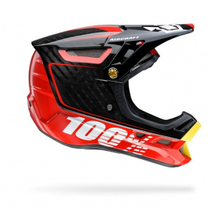 100% Casque 100% Aircraft Bi Turbo Rouge 2016