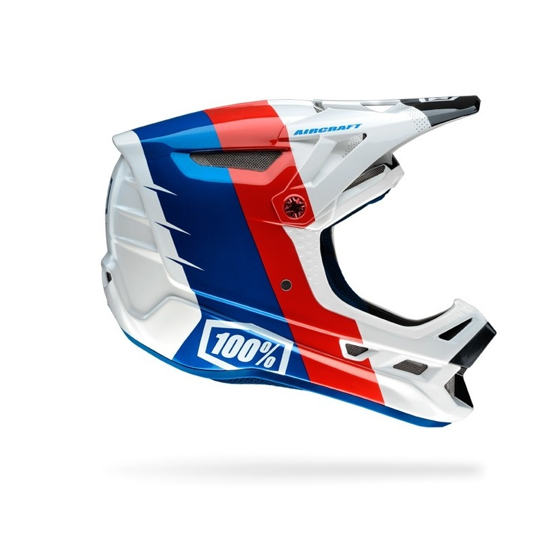 100% R8 Helm Wit 2016