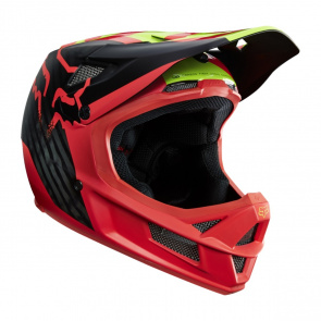 Fox Casque Fox Rampage Pro Carbon Libra Rouge