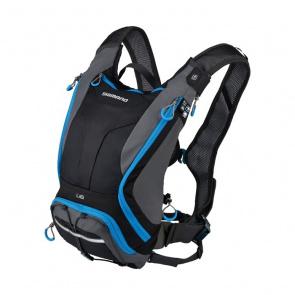 Shimano Bike Gear Sac d'Hydratation Shimano Unzen 6L Noir/Bleu