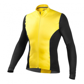 Mavic textile Maillot ML CXR Ultimate Yellow 2016