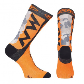 Northwave Chaussettes Northwave Extreme Tech Camo/Orange Fluo