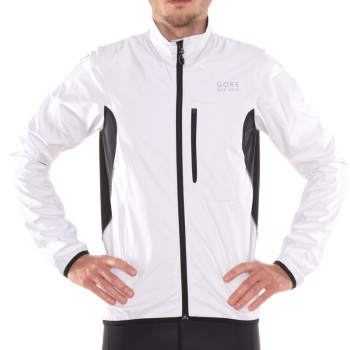 Veste Gore Bike Wear Element Windstopper Active Blanc/Noir