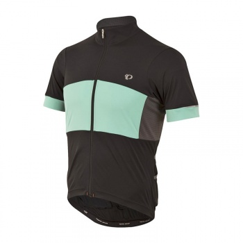 Maillot Manches Courtes Pearl Izumi Elite Escape Semi-Form Noir/Aquamint