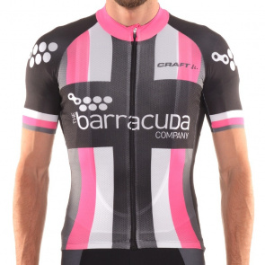 Craft Maillot Manches Courtes Craft Elite Barracuda Fuchsia