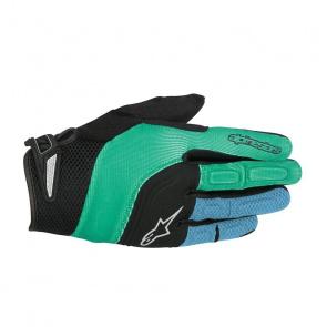 Alpinestars Gants Alpinestars Velocity Vert/Bleu