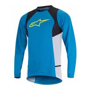 Alpinestars Alpinestars Drop 2 Shirt met Lange Mouwen Blauw/Geel 2017