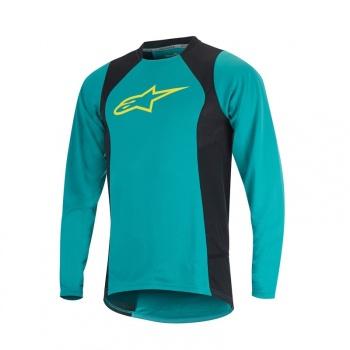 Alpinestars Drop 2 Shirt met Lange Mouwen Groen/Geel 2017