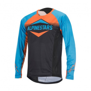 Alpinestars Maillot Manches Longues Alpinestars Mesa Bleu/Orange 2017