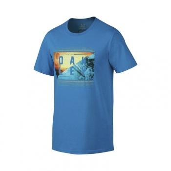 T-Shirt Oakley Yeww Bleu Pacific 2016