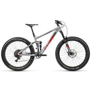 "Cube - Promo VTT 27.5""+ Cube Stereo 150 HPA Race Gris/Rouge 2016"