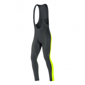 Gore Bike Wear Collant Gore Bike Wear Element 2.0 Thermo+ Noir/Jaune Neon