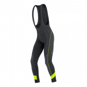 Gore Bike Wear Collant Gore Bike Wear Power 3.0 Thermo+ Noir/Jaune Neon