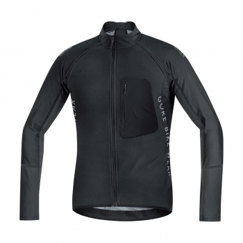 Gore Bike Wear Alp-X Pro WS SO Z-Off Shirt met Lange Mouwen Zwart