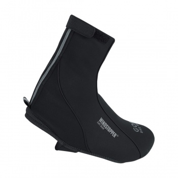 Sur-chaussures Gore Bike Wear Road WS Thermo Noir